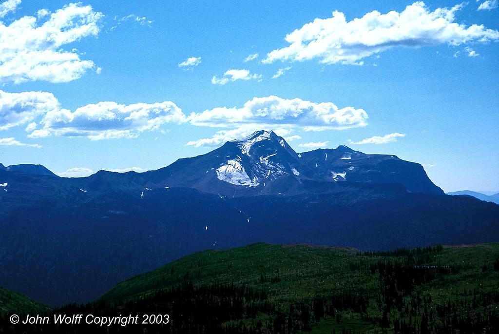<b> Icy cirque - Glacier National Park </b>