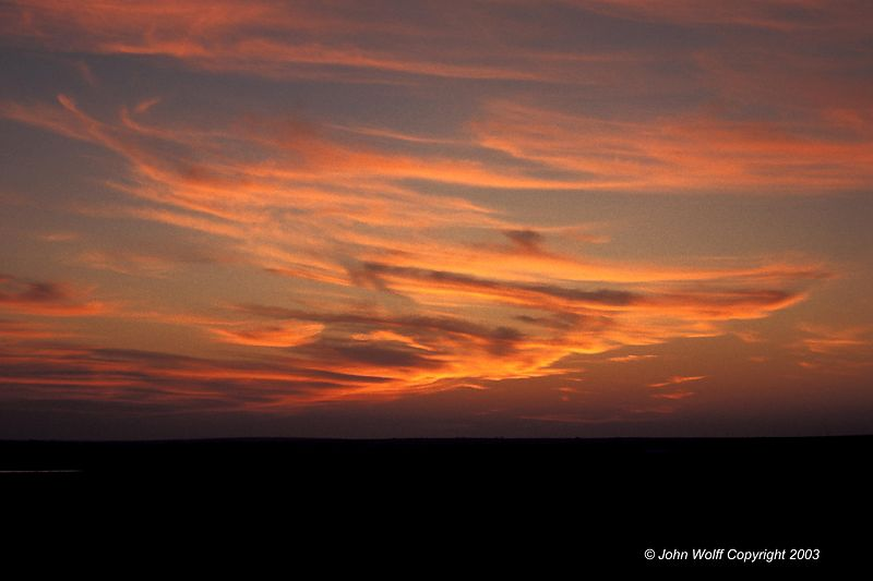 <b> South Dakota Sunset </b>