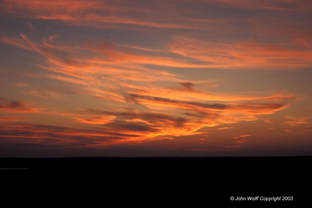 <b> South Dakota Sunset </b>