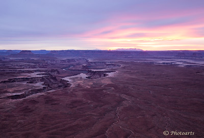 """Sunset Over Canyonlands"""