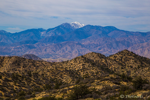 """Layers to Mt. San Jacinto"""