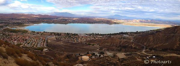 Lake Elsinore Panoramic