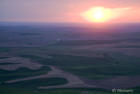 """Palouse Sunset"""