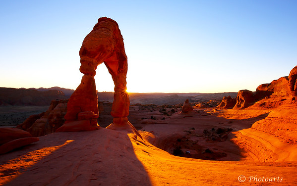 """Delicate Arch Sunset"""
