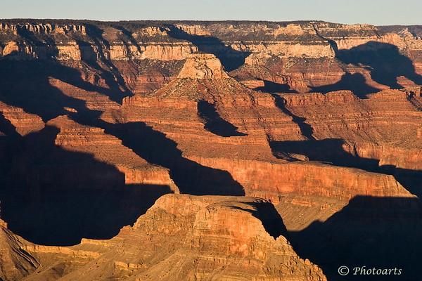 """""""Shadows in Grand Canyon"""""""