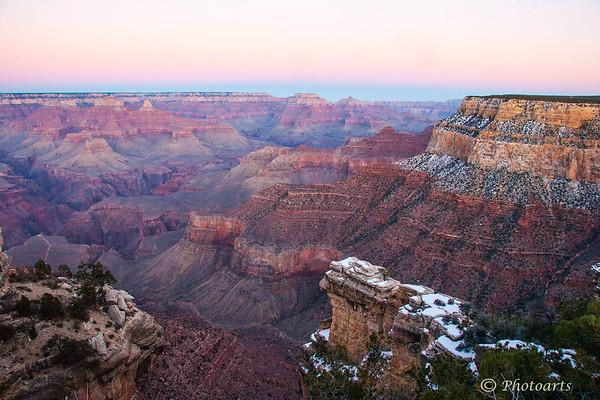 """Grand Canyon Dawn"""