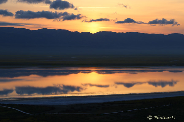 Soda Lake Reflections