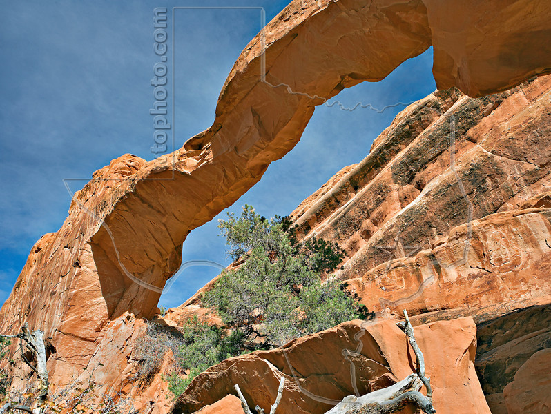 Wall Arch,<br /> Arches National Park, Utah