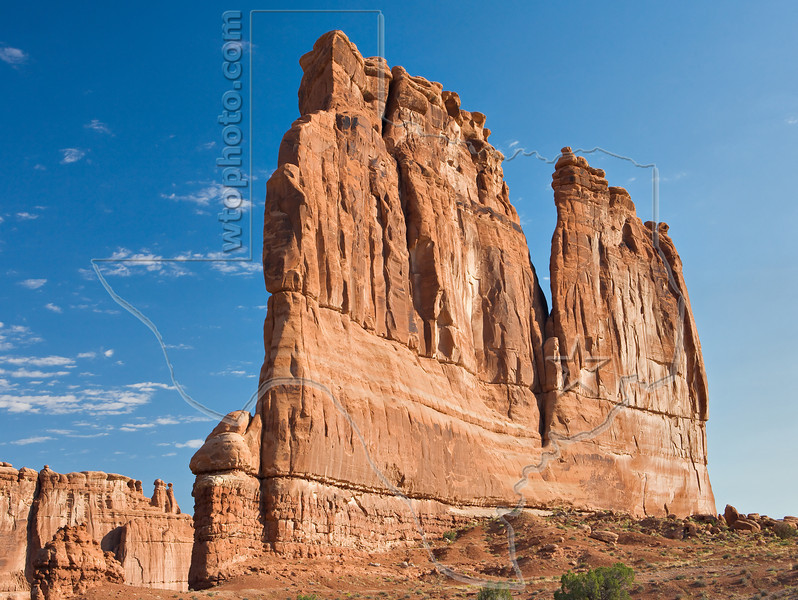 Tower of Babel,<br /> Arches National Park, Utah