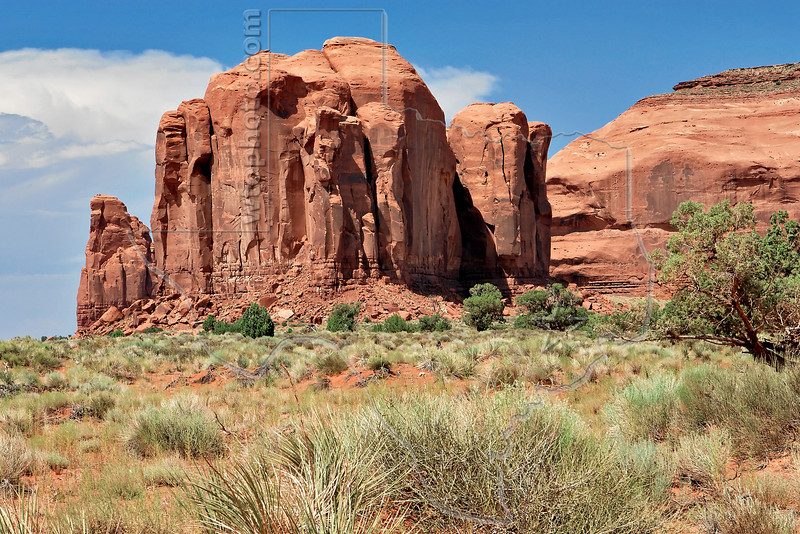 Monument Valley Pinnacles,<br /> Monument Valley, Arizona