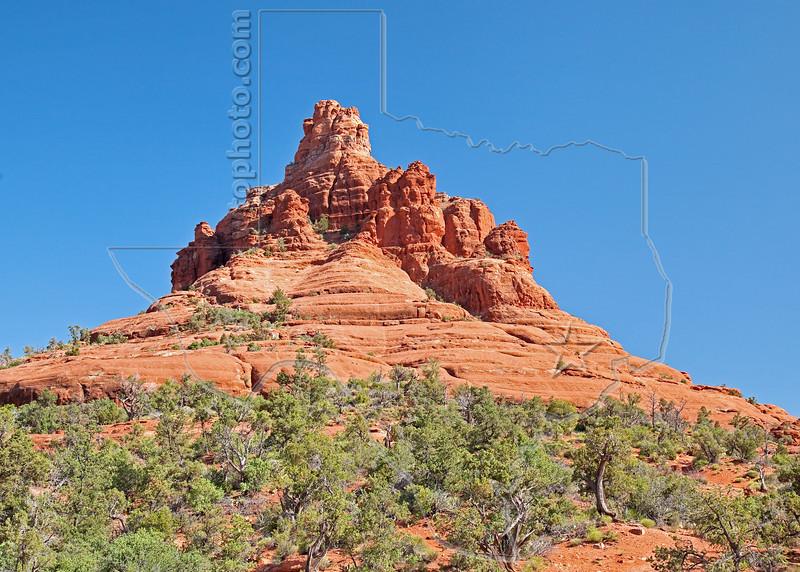 Bell Rock,<br /> near Sedona, Arizona