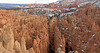 Panorama - Sandstone Hoodoos, Twilight<br /> Bryce Canyon National Park, Utah