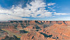 Panorama - Green River in Shafer Canyon,<br /> from Dead Horse Point,<br /> Dead Horse State Park, Utah