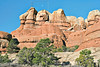 Sandstone Peaks, Chesler Park Trail<br /> Canyonlands National Park, Utah