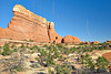 Sandstone Peaks, Chesler Park Trail,<br /> Canyonlands National Park, Utah