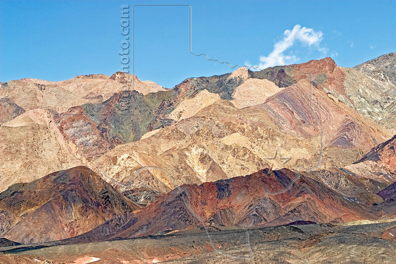 Mineral-rich Hills,<br /> Southern Death Valley National Park
