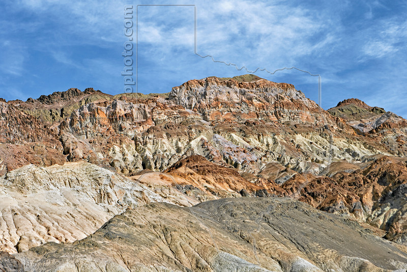 Severaly Eroded Hills,<br /> Death Valley National Park, California