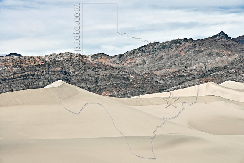 Sand Dunes,<br /> Death Valley National Park, California