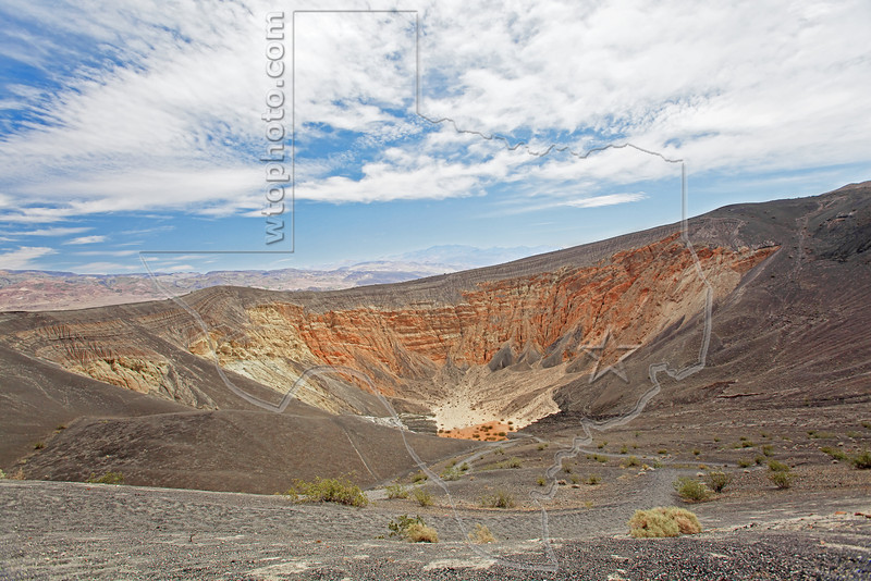 Ubehebe Crater,<br /> Death Valley National Park
