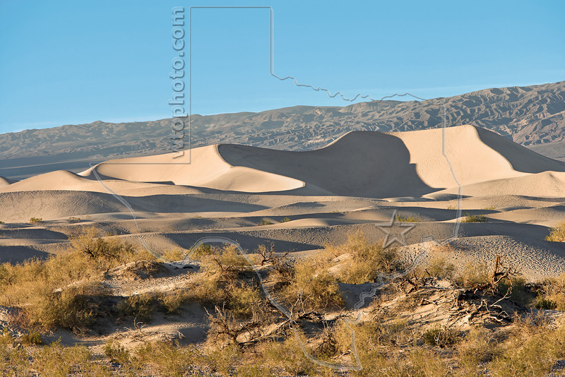 Sand Dunes,<br /> Death Valley National Park, California
