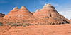 Brain Rock and Tepees along Hike to The Wave,<br /> North Coyote Buttes,<br /> Paria Canyon-Vermilion Cliffs Wilderness, Utah-Arizona