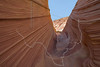 At The Wave,<br /> North Coyote Buttes,<br /> Paria Canyon-Vermilion Cliffs Wilderness, Utah-Arizona