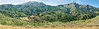 Panorama - Mountain Scenery along Nebo Loop,<br /> Nebo Scenic Loop, Utah