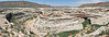 Panorama - Natural Bridge,<br /> Natural Bridges National Monument, Utah