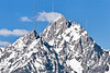 Grand Teton Mountains,<br /> Grand Teton National Park, Wyoming<br /> Wyoming, USA