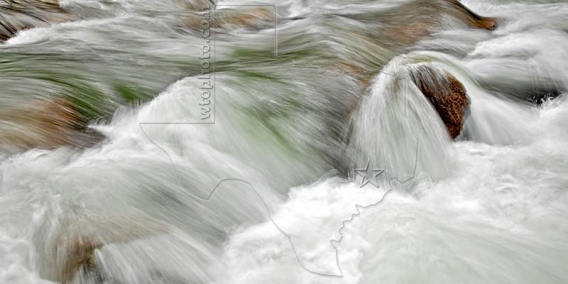 Tenaya Creek Rapids,<br /> Yosemite National Park, 2011