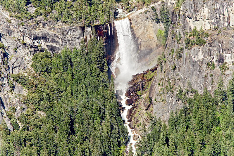 Vernal Fall from Washburn Point,<br /> Yosemite National Park, 2011