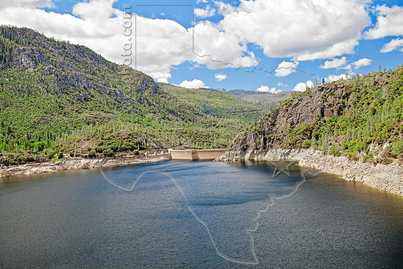 Hetch Hetchy Reservoir and O'Shaughnessy Dam,<br /> Hetch Hetchy Valley,<br /> Yosemite National Park, 2011