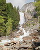 Vernal Falls and Mist Trail Hikers,<br /> Yosemite National Park, 2011