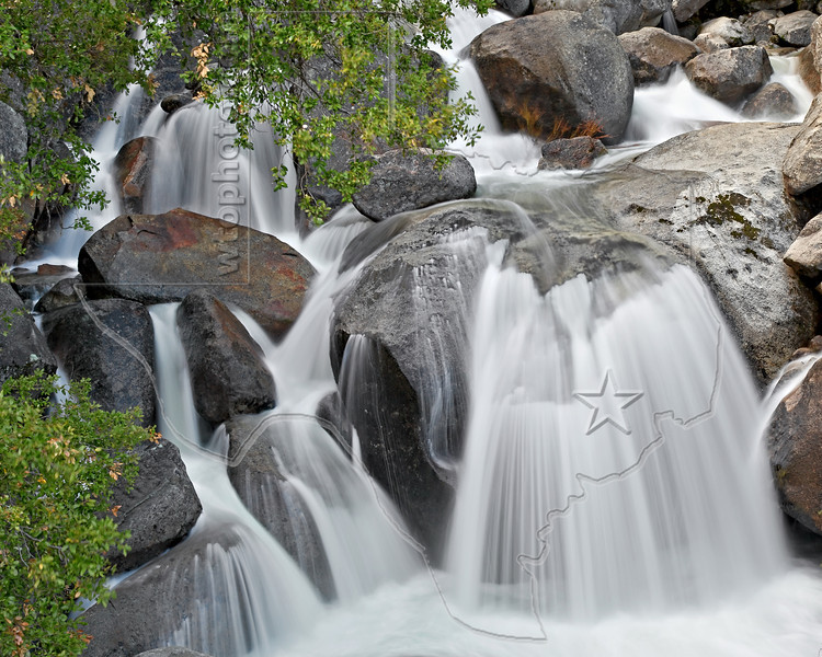 Falls on Wildcat Creek,<br /> Yosemite National Park, 2011