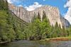El Capitan and Ribbon Falls,<br /> Yosemite National Park, 2011