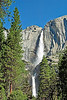 Upper and Lower Yosemite Falls,<br /> Yosemite National Park, California