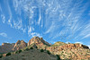 Sandstone and Cirrus,<br /> Zion National Park, Utah