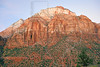 Sandstone Mountain at Dawn,<br /> Zion National Park, Utah