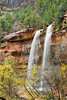 Waterfalls at Emerald Pools,<br /> Zion National Park, Utah