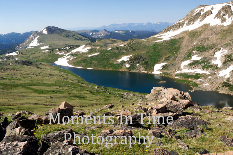 Alpine vista from Bear Tooth Pass