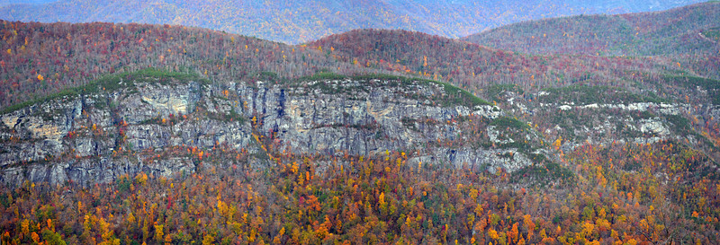 Western Wall of Linville Gorge