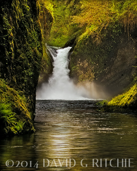 """Punch Bowl Falls"" Oregon"