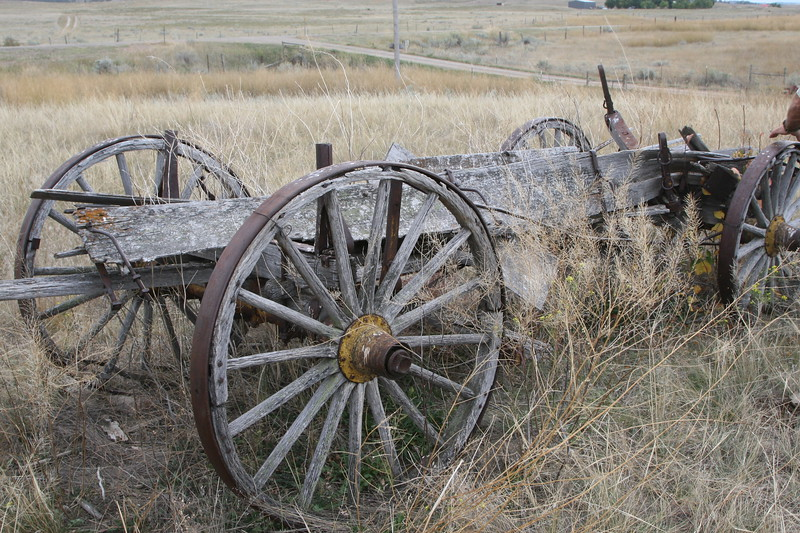 Vintage wagon from the 1800s