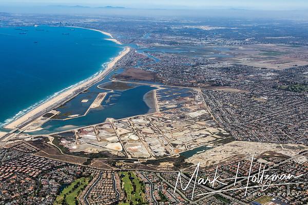 Bolsa Chica Wetlands and Huntington Beach, CA