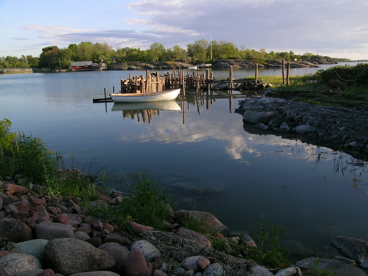 Waterfront scenery, Åland Islands, Finland.  This spot was like living in a jigsaw puzzle picture.