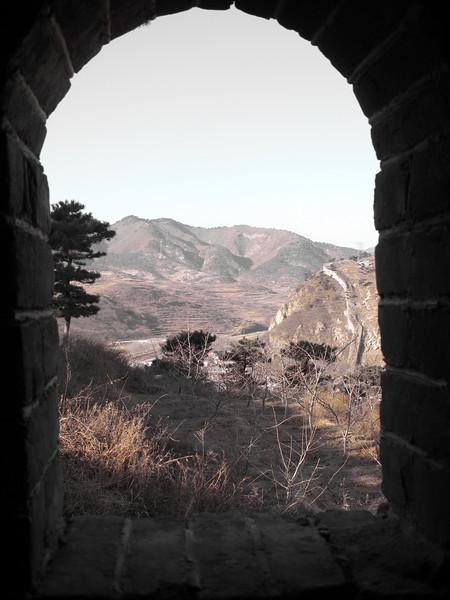 Window on the Wall, Jiumenkou