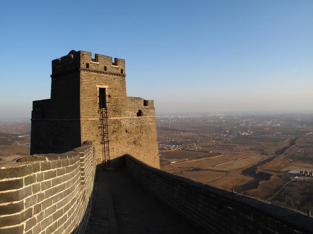 On Top of the First Mountain of the Wall
