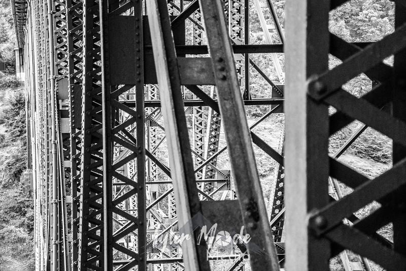 142  G Deception Bridge Close BW