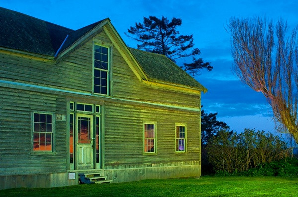 Ferry House I, on Ebey's Landing Preserve