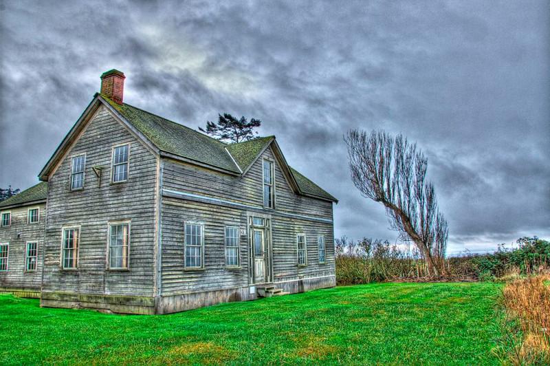Old Ferry House on Ebey's Landing (shameless use of digital manipulation)